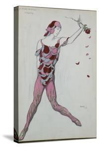 Costume Design for Nijinksy from 'Le Spectre de La Rose', 1911 by Leon Bakst