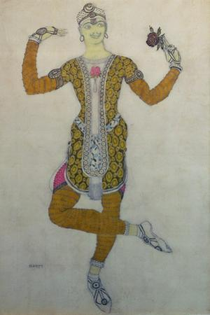 Costume Design for Nijinsky in 'Le Festin', 1909 by Leon Bakst