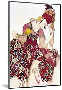 """Costume Design for Nijinsky in the Ballet """"La Peri"""" by Paul Dukas 1911 by Leon Bakst"""