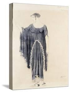 Costume Design for Oedipus at Colonnus- Antigone by Leon Bakst