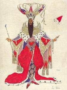 Costume Design For Potiphar in The Legend of Joseph, 1914 by Leon Bakst