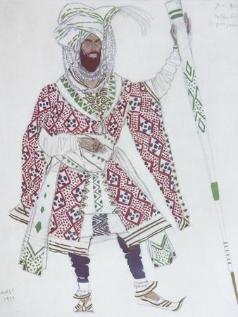 Costume Design for the Ballet Blue God, 1912