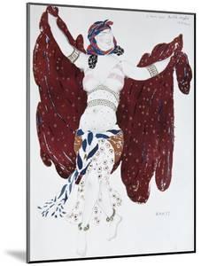 Costume Design for the Ballet Cléopatre, 1909 by Léon Bakst