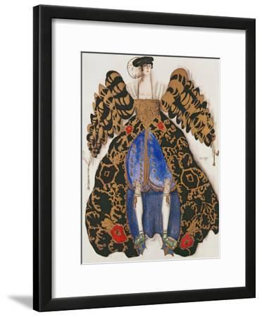 Costume Design for the Ballet 'La Legende De Joseph', 1914 (Charcoal and Gouache on Paper)
