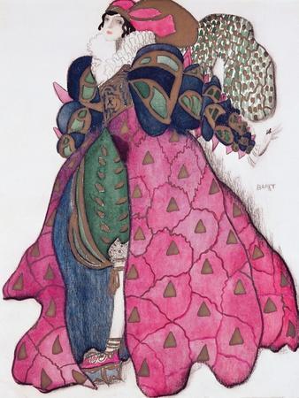 Costume Design for the Ballet 'La Legende de Joseph', 1914