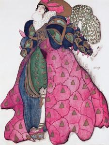 Costume Design for the Ballet 'La Legende de Joseph', 1914 by Leon Bakst