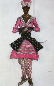 Costume Design for the Indian Bridegroom, from Sleeping Beauty, 1921 (Colour Litho) by Leon Bakst