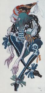 Costume Design for the Pageboy of the Wicked Fairy Carabosse, from Sleeping Beauty, 1918 by Leon Bakst