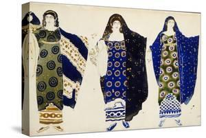 Costume Design for the Play 'Oedipus at Colonus' by Sophocles, 1904 by Leon Bakst