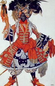 Costume Design For the Queen's Guard, from Sleeping Beauty, 1921 by Leon Bakst