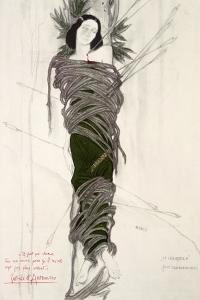 Costume Design for the The Ballet Dancer Ida Rubinstein, 1911 by Leon Bakst