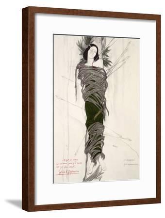 Costume Design for the The Ballet Dancer Ida Rubinstein, 1911