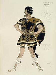 Costume for Darcon, from Daphnis and Chloe, C.1912 by Leon Bakst