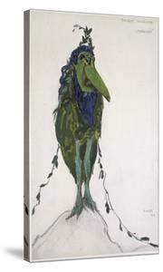 Costume Of'La Divinité Mineure ' for 'Narcisse', 1911 (Bodycolour and Graphite on White Wove Paper) by Leon Bakst