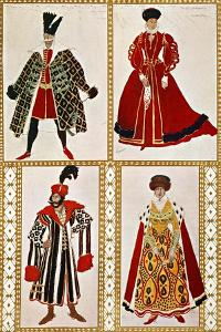 Costume Sketches by Leon Bakst