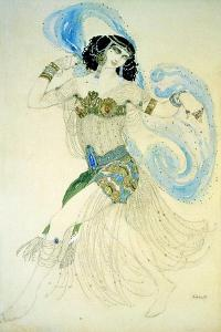 Dance of the Seven Veils, 1908 by Leon Bakst