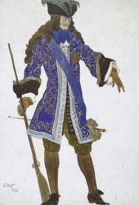 Design for the Count's Costume in Act III of 'The Sleeping Princess', 1922 by Leon Bakst
