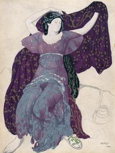 'Echo Abandonée', 1922, (1923) by Leon Bakst