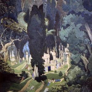 Elysium, 1906 by Leon Bakst