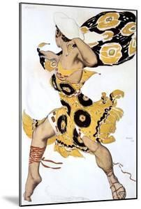 Ephebe, Costume Design for a Ballets Russes Production of Tcherepnin's Narcisse, 1911 by Leon Bakst