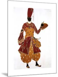 Eunuch Costume Design for the Ballet Scheherazade, 1910 by Leon Bakst