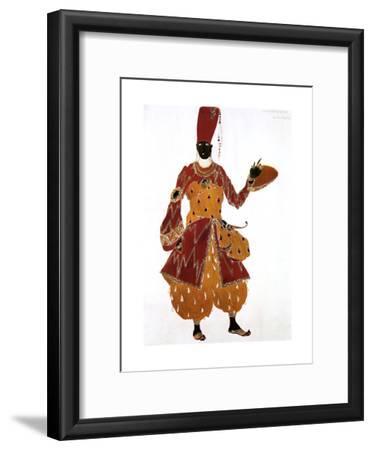 Eunuch Costume Design for the Ballet Scheherazade, 1910