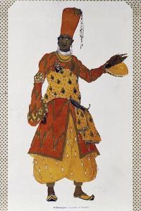 Eunuch, Costume Designed by Leon Bakst