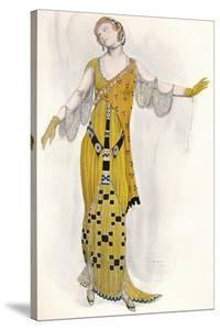 Fantaisie Sur Le Costume Moderne, Dione, C1910 by Leon Bakst
