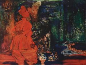 Harem's Secret (Ballet Scheharazade by N. Rimsky-Korsako), C. 1910 by Léon Bakst