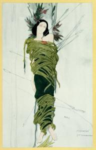 Ida Lvovna Rubinstein by Leon Bakst