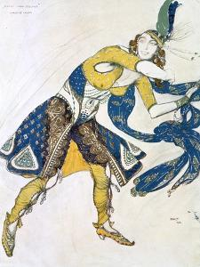 Indian Dance' (La Marquise De Casat), 1912 by Leon Bakst