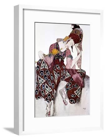 Iskander, Costume Design for the Ballet La Peri, C1913