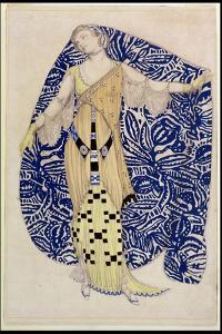 Modern Dress, Dione, 1910 by Leon Bakst