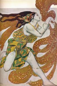 'Narcisse: A Bacchante. Costume design for the dance Narcisse', 1911 by Leon Bakst
