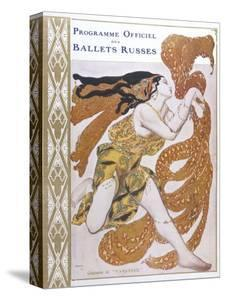 Narcisse Cover for the Offical Programme of Narcisse by Leon Bakst