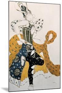Peri (Natasha Trouhanov), Costume Design for La Peri, 1911 by Leon Bakst