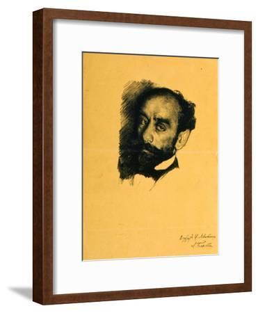 Portrait of the Artist Isaak Levitan, 1899
