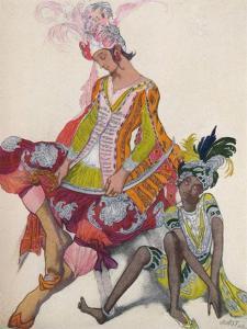 'Prince Et Esclave Revant', 1922, (1923) by Leon Bakst