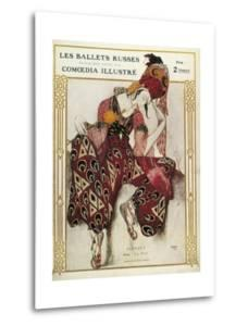Program of the Russian Ballets Company by Leon Bakst