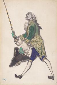 Rinaldo, 1917 by Leon Bakst