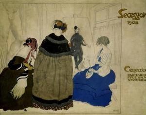 Secession, 1908 by Leon Bakst