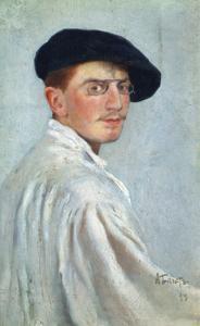 Self-Portrait, 1893 by Leon Bakst