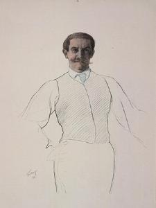 Self-Portrait, 1906 by Leon Bakst
