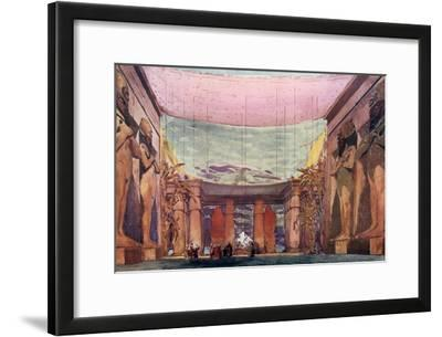 Set Design for a Ballets Russes Production of Cleopatra, 1909