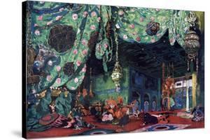 Set Design for the Ballet Scheherazade, C1913 by Leon Bakst