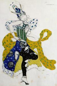 Sketch For the Ballet La Peri, by Paul Dukas by Leon Bakst