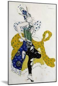 Sketch For the Ballet La Peri, by Paul Dukas by Leon Bakst