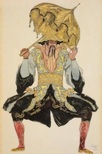 The Chinese Mandarin, Costume Design for 'Sleeping Beauty', 1921 (Pencil, W/C and Gouache) by Leon Bakst