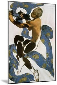 The Faun (Nijinsk), Costume Design for the Ballets Russes, 1912 by Leon Bakst