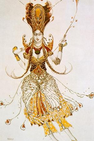 The Firebird, Costume Design for Stravinsky's Ballet the Firebird, 1910 by Leon Bakst